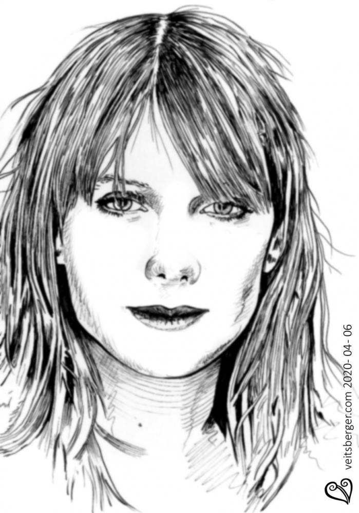 Mélanie Laurent por veitsberger